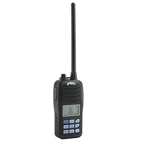 Rugged Radios VMR-5H 5 Watt VHF Two Way Handheld Waterproof Marine Radio