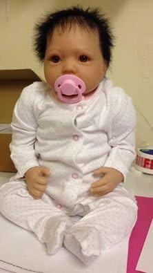 Amazon.es: Reborn Baby Girl Muñeca, Heavy, 20 cm de largo, con ...