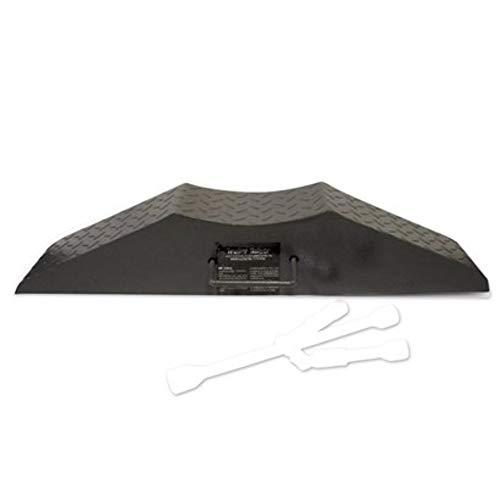 Trailer Helper Steel Trailer Jack - Flat Tire Ramp - Dimensions 32 inches x 7.25 inches x 6 inches - Weight 18 Pounds