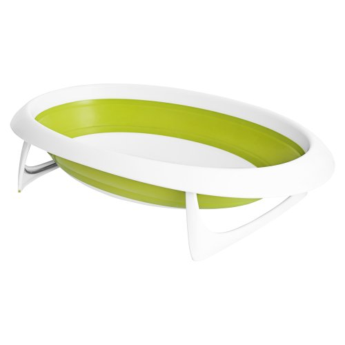 Boon Naked Collapsible Bathtub Green