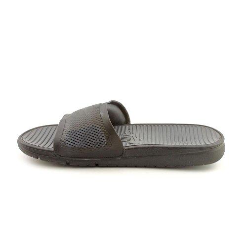 Nike Mens Benassi Solarsoft Slide, Nero / Nero-grigio Scuro, 7 M Us
