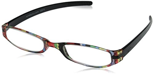 Wink Expressions Stripe Reading Glasses, Multi Stripe (+1.75) Stripe Reading Glasses