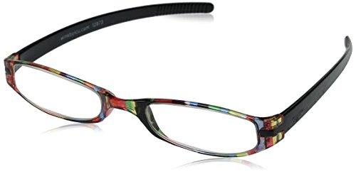 Wink Expressions Neoprene Multi Stripe Reading Glass, +1.75,