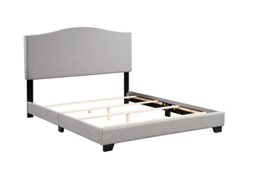 Boraam 95145 Dione Bed in a Box, Queen, Gray ()