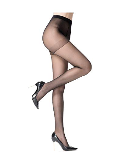 58632f828 Sheer Pantyhose for Women 3 Pairs Durable and Comfortable Stockings No Run  Pantyhose Socks Diy Dutting