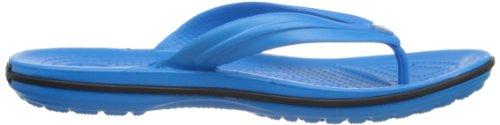 Crocs Crocband Flip, Chanclas Unisex Adulto Azul (Ocean/Black)