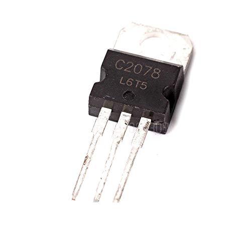 10pcs C2078 2SC2078 3A 80V NPN high Frequency Transistor Channel New Original