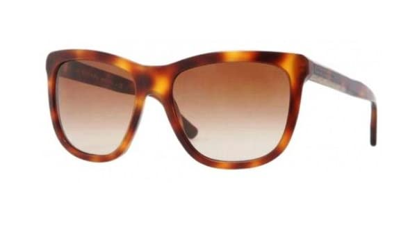 94ba48612f7e Burberry Sunglasses 4130A 3316 13 Havana Brown Gradient  Amazon.ca ...