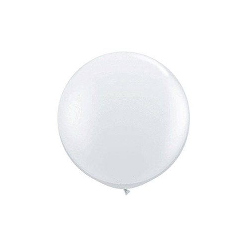 Clear Jumbo Latex Balloons Pack product image