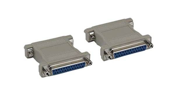 GENDER CHANGER DB25 F TO DB25 F PARALLEL CABLE ADAPTER
