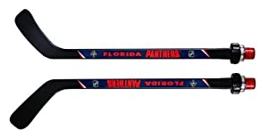 NHL Florida Panthers Goal Light Stick (Righty), Medium, Black