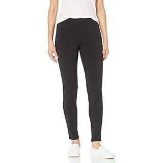 Hanes Women's Stretch Jersey Legging, Black, XX-Large
