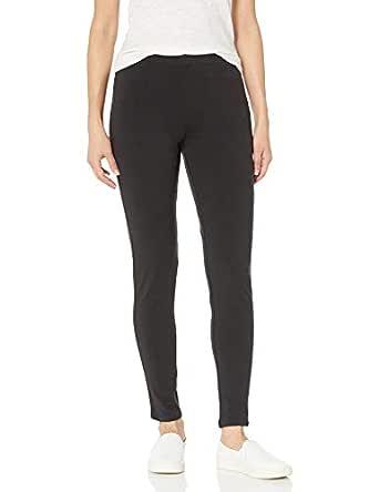 Hanes Women's Stretch Jersey Legging, Black, Small