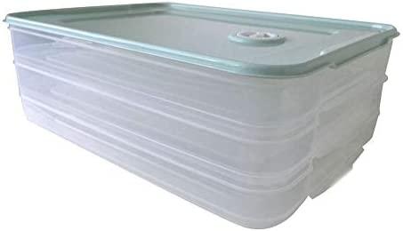 iBaste_S Refrigerador Caja de Almacenamiento de múltiples Capas ...