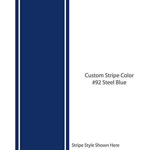 10 Inch Rally Stripes - 1060 graphics The Dale 10
