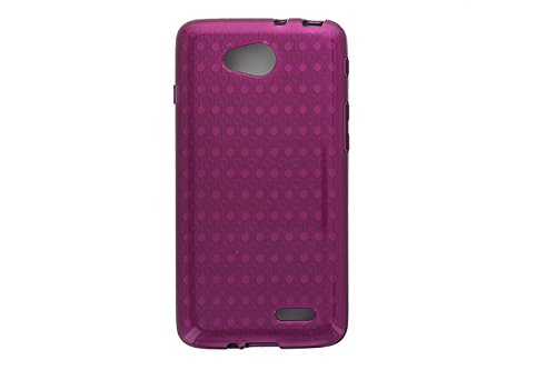 Protective Case Cover For LG Optimus L90 - Purple ()