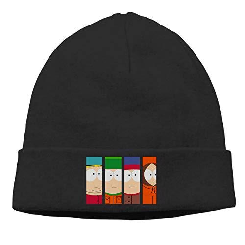 Gaoger Mens & Womens South Park Season Skull Beanie Hats Winter Knitted Caps Soft Warm Ski Hat Black]()