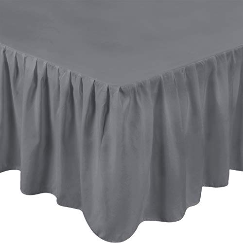 Utopia Bedding Full Bed Ruffle Skirt -