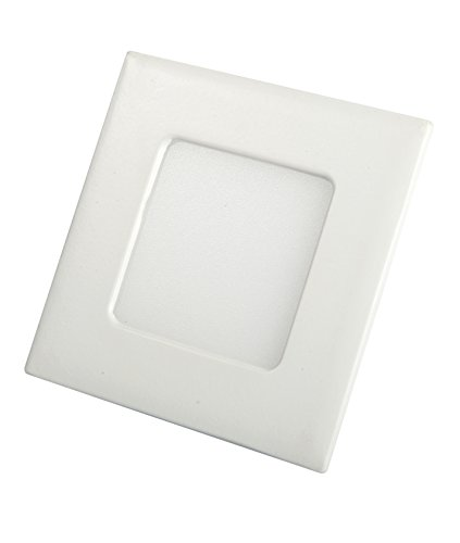 puffin LED 3w Squre Panel Ceiling Light, Color of LED White