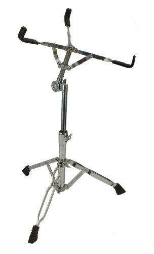 NEW SNARE DRUM STAND - CHROME - PERCUSSION Drummer Gear from EDM
