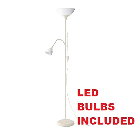 ikea floor lighting. Ikea Not Floor Lamp Reading E17, E26, LED (Bulbs Included) White Lighting