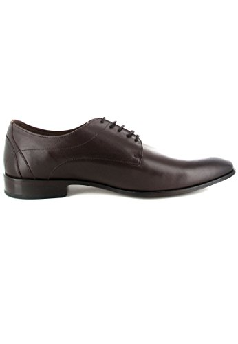 Manz , Chaussures de ville à lacets pour homme Marron Marron