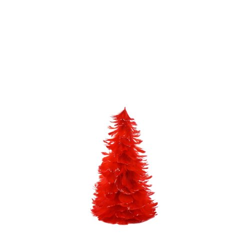 Natural Festive Feather Christmas Tree - 12