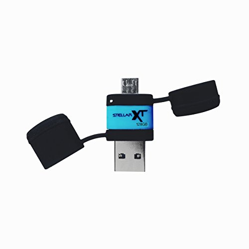 Patriot Stellar Boost XT Ruggedized 128GB USB 3.0/USB OTG Storage for Android Tablets and Phones - Up To 140MB/s Transfer Speeds