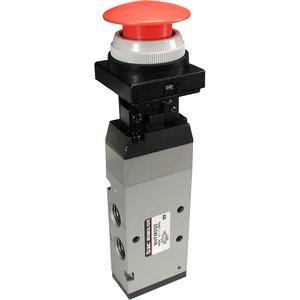 SMC NVFM250-N02-00 valve, mech'l 1/4 nptf