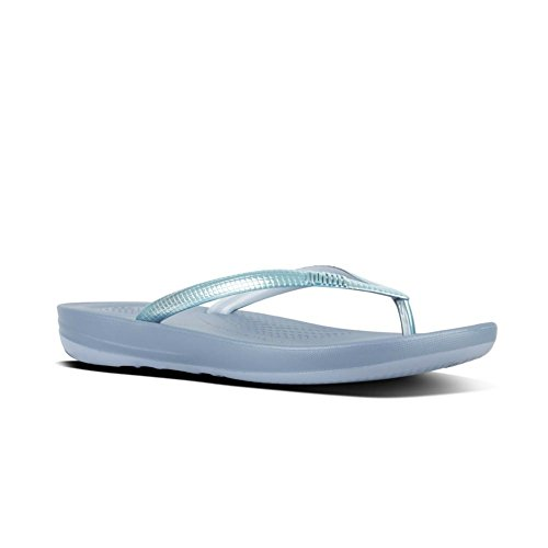 Mirror Flops Flip Women's Fitflop Blue Iqushion Ergonomic Powder SBZ0qw4xq
