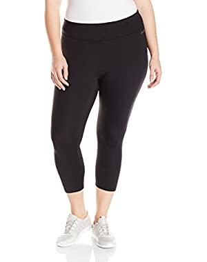 Performance Women's Plus Size Crop Tight with Back Shirring