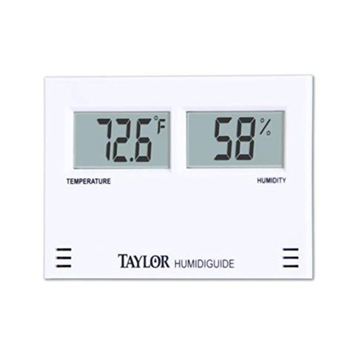 Taylor Precision Products Digital Thermometer/Hygrometer Combination Unit (-58- to 158-Degrees Fahrenheit) by Taylor Precision Products