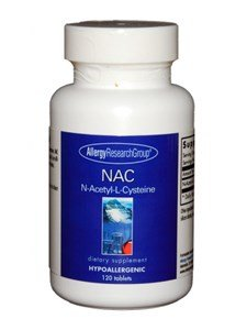 Allergy Research Liver - Allergy Research Group N-Acetyl-L-Cysteine, 500mg - 120 Tablets