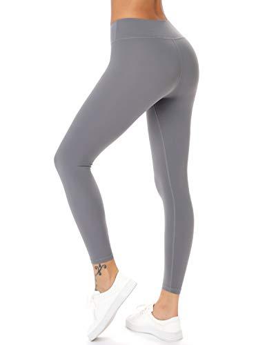 Teniux High Waisted Leggings, Ankle-Length Yoga Pants for Women Workout Running 4 Way Stretch Yoga Leggings
