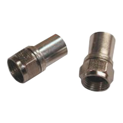 EAGLE ASPEN 500291 Radial Compression RG6 Connectors with O-Ring, 100 pk electronic consumer