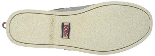 Boat Skechers Chill Me Fancy Luxe 7 M nbsp;B Shoe Marrone Gray US RwRIgrnqd