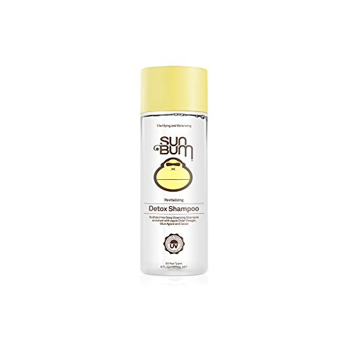 Sun Bum Revitalizing Detox Shampoo | Deep Cleansing Shampoo with Apple Cider Vinegar | Sulfate Free Shampoo | Paraben Free | Color Safe | 6oz Bottle (Best Shampoo For Sisterlocks)