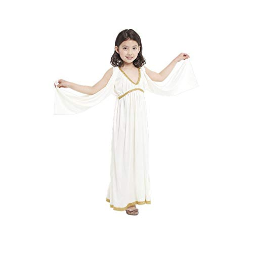 DUOLAIMENG Halloween Costumes Egyptian Princess for Girls Kids (M)
