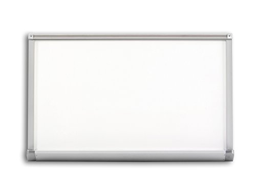 Marsh Pro-Rite 48x120 White porcelain markerboard with Penmanship Lines, Aluminum trim with 1