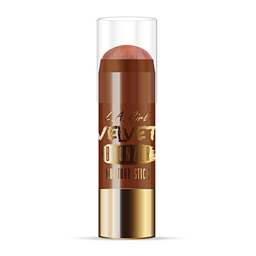 L.A. Girl Velvet Contour Sticks, Bronzer Brazen, 0.2 Ounce (Pack of 3)