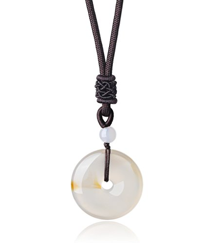 Agate Stone Necklace - 9