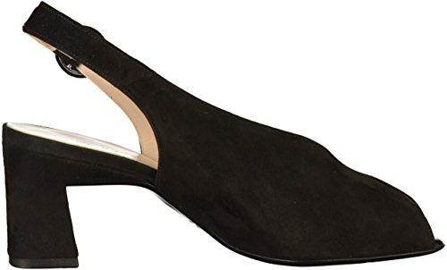 240 con Kaiser85113240 Punta Peter Mujer de negro Zapatos Tacón Cerrada SUZnxFqH5