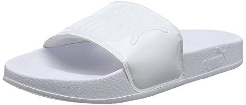 White Patent Chaussures puma Femme 02 De Puma Blanc Leadcat Plage Piscine White amp; puma Wns 4Bq1Pw