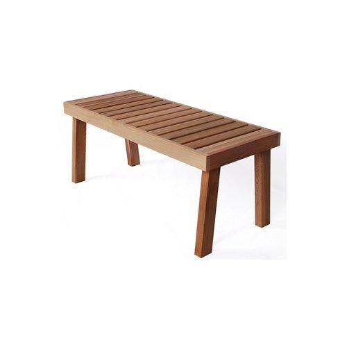 Cedar Bench 47 W x 19 1 2 D x 19 1 2 H