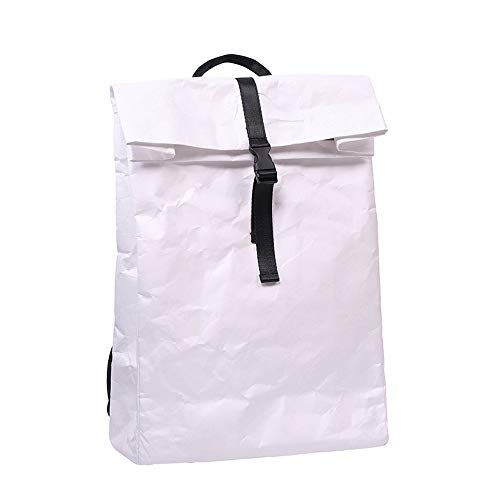 Occasionnel Scolaire Écologique white Dupont Bandoulière Protection À Oops Ultra Léger Papier Imperméable White Et Pliable En Sac Dos Simple RwOTP0
