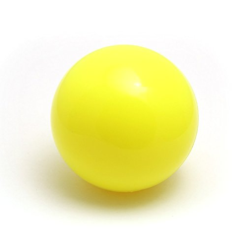 - 100mm Stage Contact Juggling Balls (Yellow)