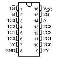 74LS153 Dual 4-Input Multiplexer (2 pack)