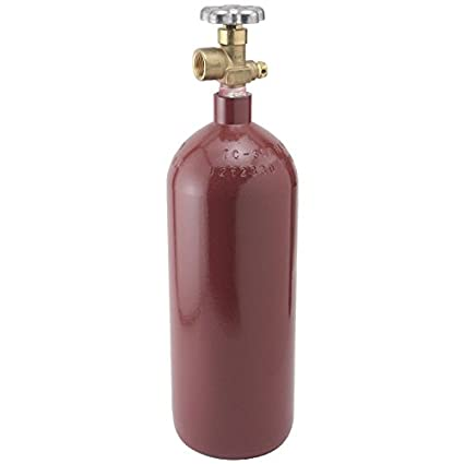 Nitrogen Gas Tank - 20 Cubic Foot Steel