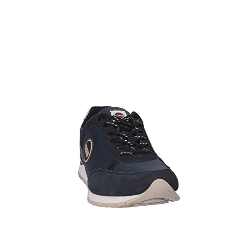 Turnschuhe 023 TRAVISD023BLACK Black Navy Drill COLMAR Travis xqw0vv