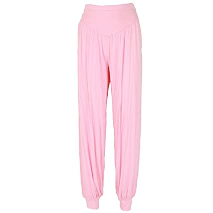 Amazon.com: Dolland Womens Modal Cotton Soft Elastic Yoga ...